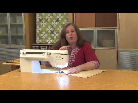Machine Minute: Specialty Stitches - Wing Needle