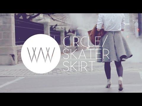 How to Make a Circle/Skater Skirt