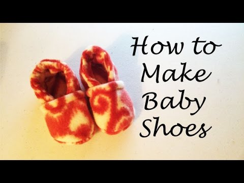 How to Sew Baby Shoes + Free PDF Pattern