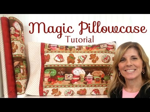 Magic Pillowcase Tutorial from Shabby Fabrics