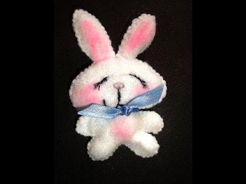 Sew a Sleepy Felt Bunny - Free PDF Pattern