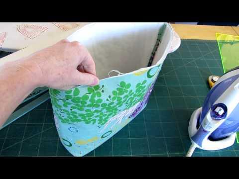 Nicole Mallalieu Combining Vilene S320 and H640 interfacings for Handmade Bags and Purses