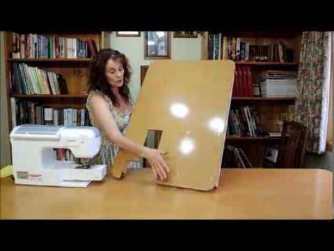 How To Make a Sewing Machine Extension Table on the Cheap!