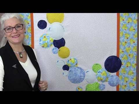 Watch How to Create a Fun Bubbles Quilt with Sew Very Easy