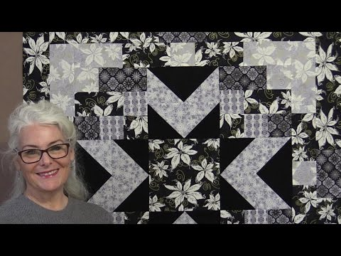 Winter Memories Star Quilt - Free Pattern!
