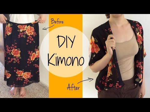 Make a Kimono Out of a Skirt with ItzaMeylin