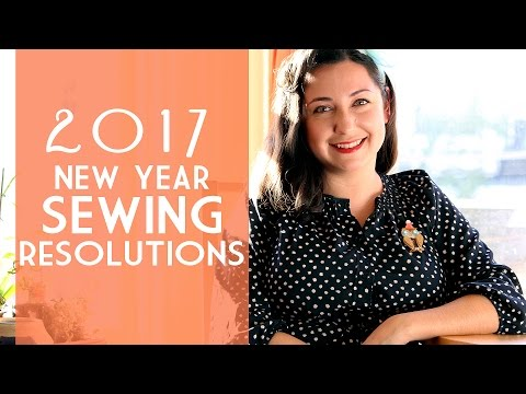 2017 Pinup and Vintage Sewing Resolutions! | Vintage on Tap
