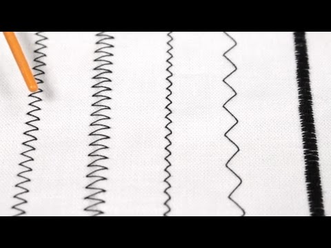 How To Sew a Zig Zag Stitch (Free Sewing Tutorial)