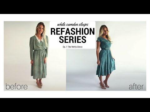 The Metta Dress - Part One of a Refashion Series by Kara Metta