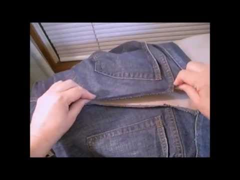 How to Eliminate the Gap in the Back of Your Jeans Waistband