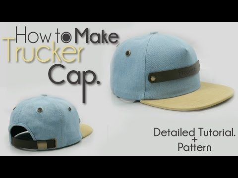 Learn How To Make Trucker Hat with Properfit Clothing
