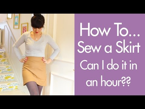 How You Can Sew An Easy Skirt in Under an Hour with Lisa Comfort of SewOverIt