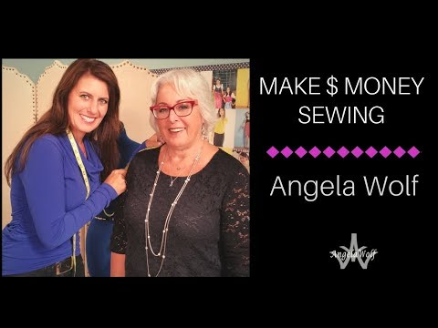 Tips for Starting a Sewing Business from Angela Wolf