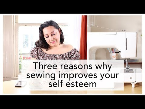 Three Ways Sewing Improves Your Self Esteem - from Vintage on Tap