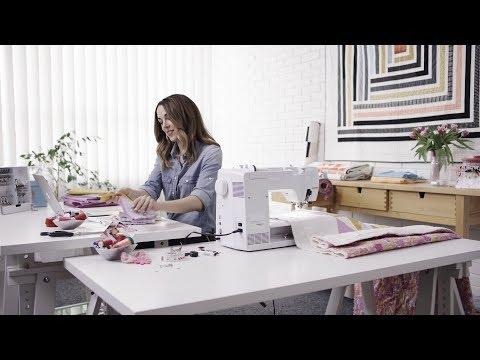 Suzy Williams, Quilt-Designer aka «Suzy Quilts», talks about the new BERNINA 570 QE