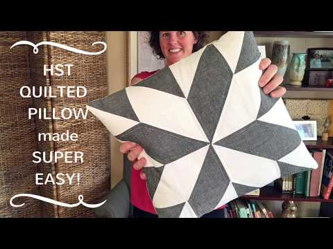 Easy Modern Quilted Pillows with Gingercake