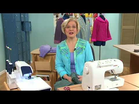 Sewing for Fall: How To Make a Sweatshirt Jacket Fit