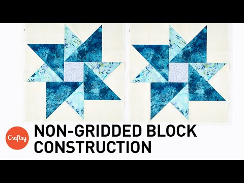 How to Piece Non-Gridded Quilt Blocks + Partial Seaming with Donna Lynn Thomas
