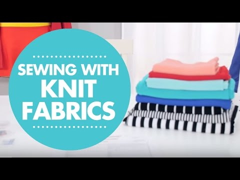 How to Sew Knit Fabrics - With Simplicity