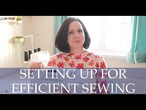 Five Tips for Efficient Sewing Room Set up With Suzanna Forsythe