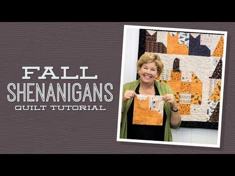 Stitch a Fall Shenanigans Wall Quilt - Missouri Star