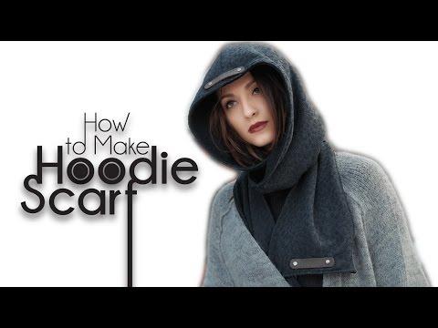 Easy Sewing: Winter Hood + Scarf Tutorial