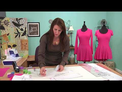"Upcycle or ""Pattern-hack"" a T-shirt to Add a Peplum"