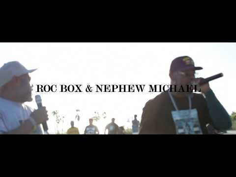 ROC BOX & NEPHEW MICHAEL PERFORM IN LONG  BEACH