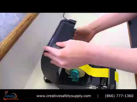 Pipe Marking Label Printer and Labeling Machine