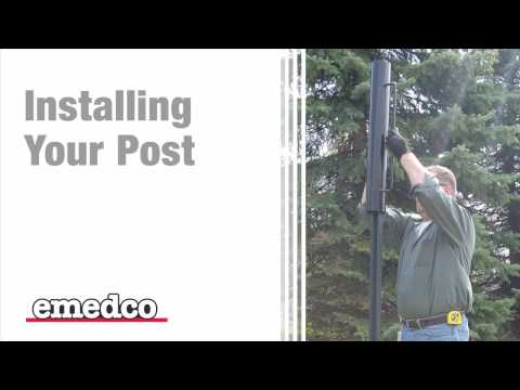 How to Install a U-Channel Sign Post