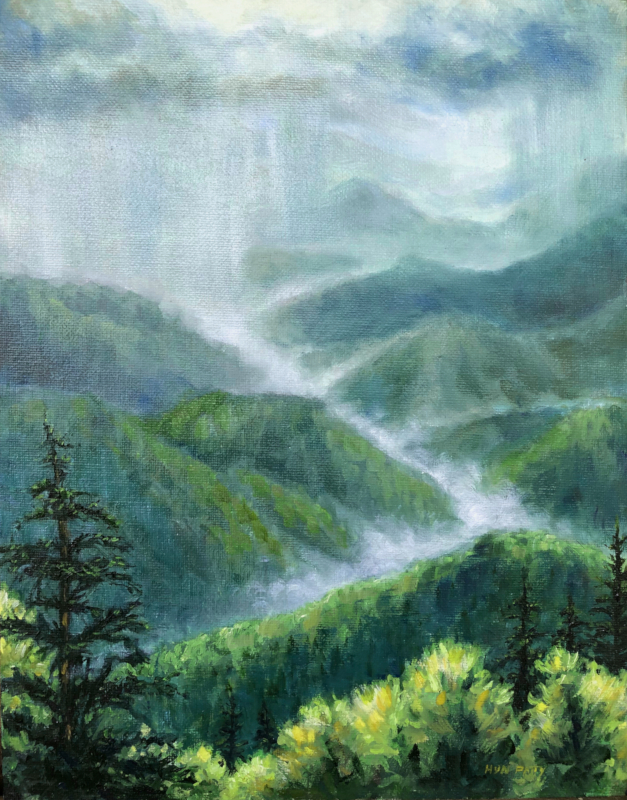 Caney Fork Overlook by Hyn Patty