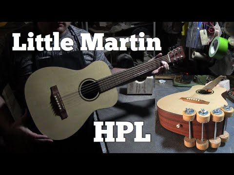 Fixing a Little Martin Guitar - Repairing High-Pressure Laminate (HPL)