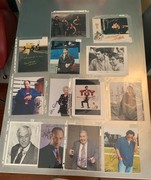 SELL-Nostalgia alert!! 13 different signed 8x10s for $89 DLVD...just $6.85 each!