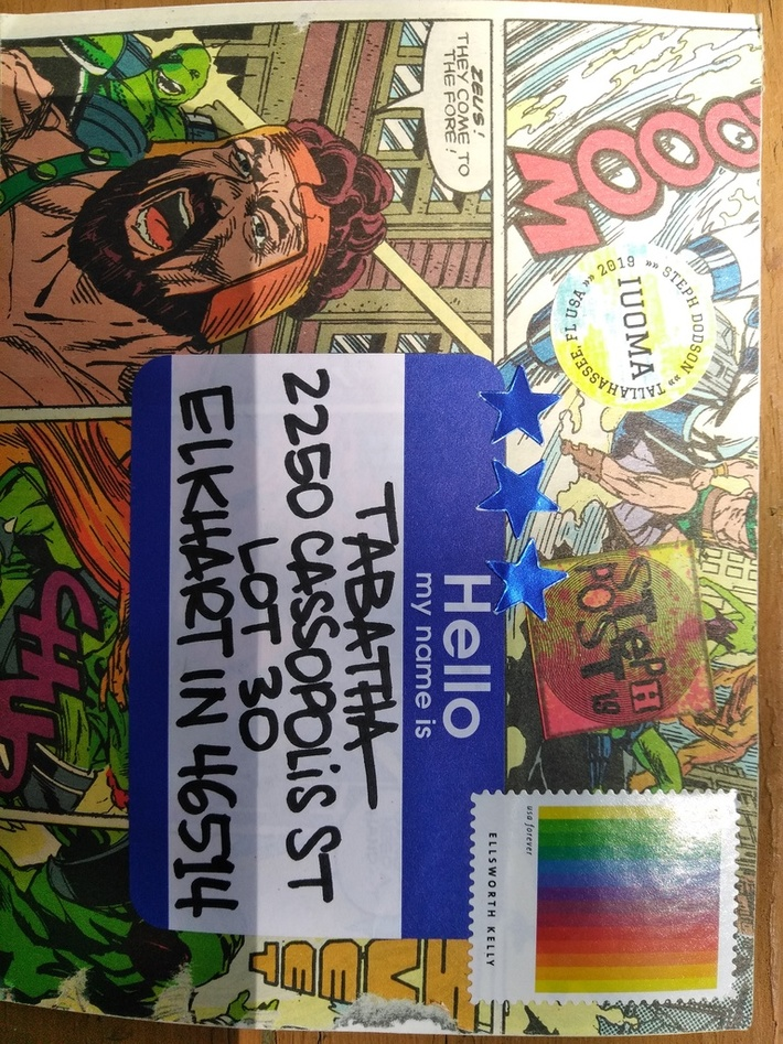 Received Mail Art From Steph Dodson
