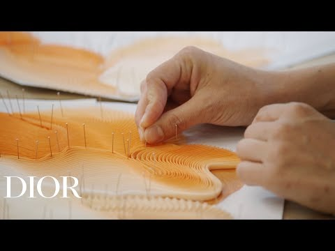 The Savoir-Faire of the Pleats from the Dior