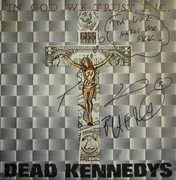 Dead Kennedys In God We Trust, Inc. Signed EP