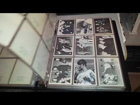 Beatles 1964 Topps Trading Cards - Black & White 1st 2nd 3rd, Color, Diary & A Hard Day's Night