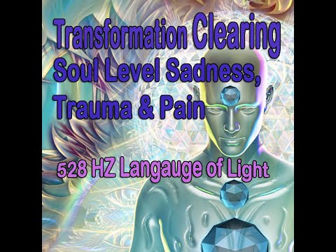 528 HZ Language of Light/DNA Karma Clearing/Soul Level Sadness &Trauma/Open to Spiritual Self