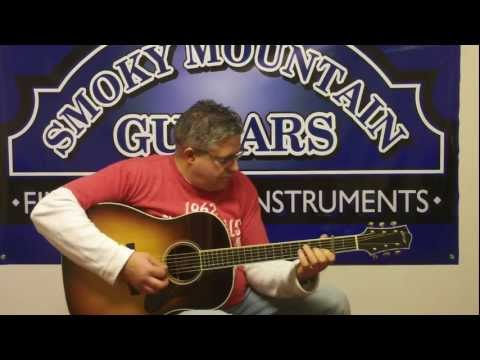 Kenny Smith plays Angeline on a Collings CJ at Smoky Mountain Guitars
