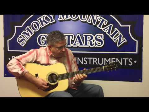 Kenny Smith plays Leather Britches at Smoky Mtn. Guitars