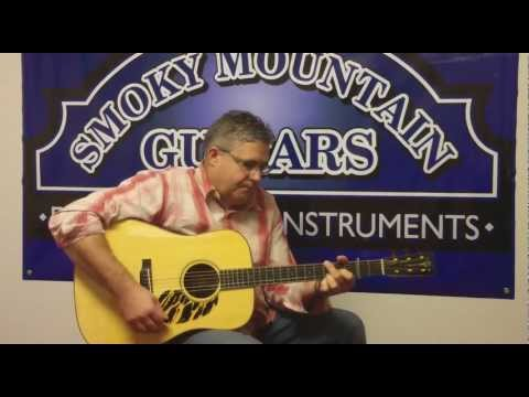 Kenny Smith plays Me and My Farmall at Smoky Mtn. Guitars