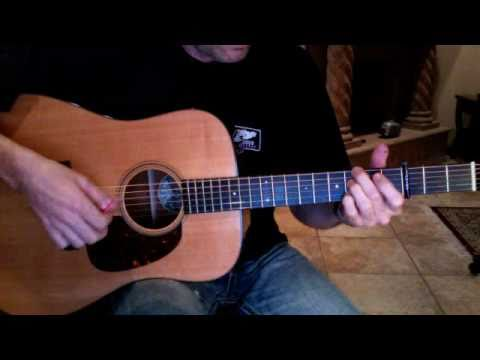 Larry The Logger Two Step  - Cover - Ward Chandler on a Collings D1