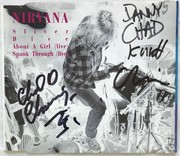 Nirvana Signed Sliver Single