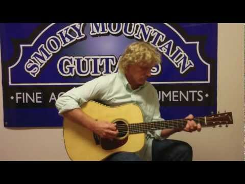 "Richard Bennett plays ""Just A Closer Walk With Thee"""