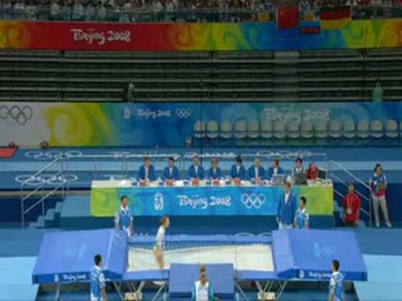YouTube - Ekaterina Khilko Trampoling Final Olympics 2008