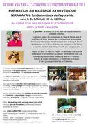 formation au massage Nirmaya ayurvédique