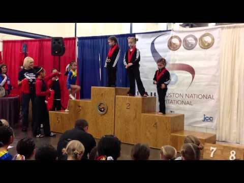 Kenya Cabrera categoria Junior A 3er Lugar Barras Asimetricas