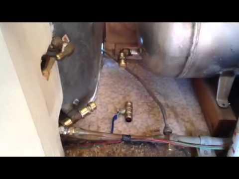 Plumbing installation pt 1