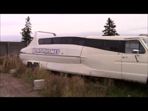 1986 Highwave Boaterhome Junk Yard Walk Around