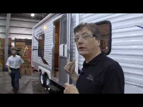 Jayco - Building A Jayco Travel Trailer In 7 Hours Pure Junk